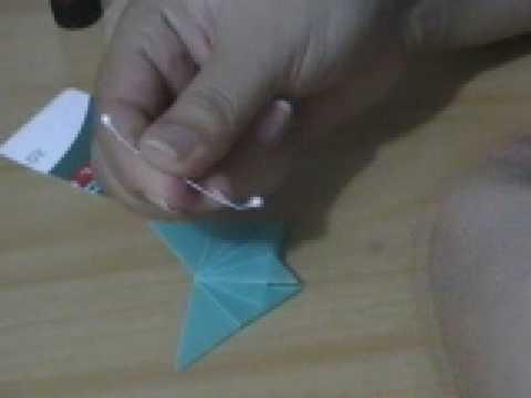 Mariposas de origami para invitación de boda