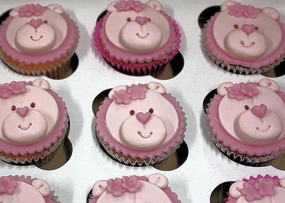 Tutorial: Cupcakes o panquecitos decorados con fondant