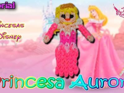 ♥ Tutorial: Princesa Aurora [Princesas Disney] (sin telar) ♥