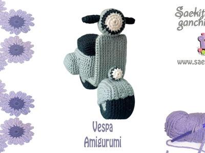 Vespa Ganchillo. Vespa Crochet * Parte 1: Chasis Vespa * Saekita Ganchillo