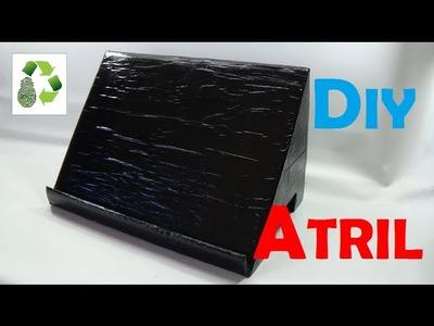 115. DIY ATRIL (RECICLAJE DE CARTON)