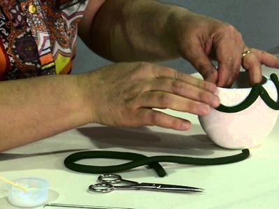 Activa Mujer 161 - Así de fácil - Adornos navideños en porcelana fría -