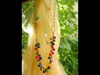 . al grito de.    accesorios de moda - collares