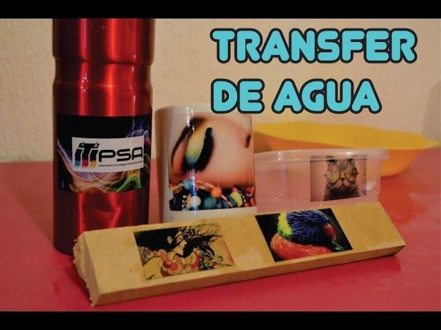 Aplicación de Transfer de Agua