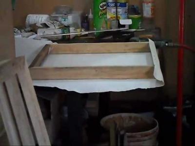 Cómo crear un lienzo tipo caja para óleo o acrílico (cuadro para óleo o acrílico)