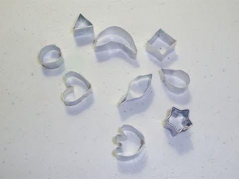 Cómo hacer sus propios moldes para manualidades con arcilla polimerica
