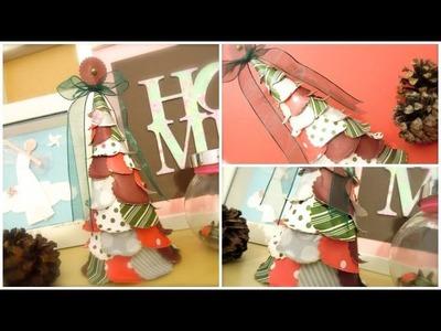 Cómo hacer un arbolito de papel. MUY FÁCIL. DN3-2013
