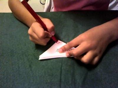 Como hacer un comecocos de papel