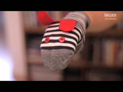 Cómo hacer un perro con un calcetín