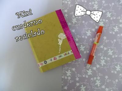 Crea tu propio cuaderno reciclando