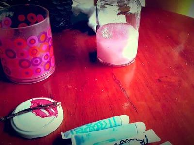 #CREA un Atardecer (o galaxia) en un frasco! :D |♥