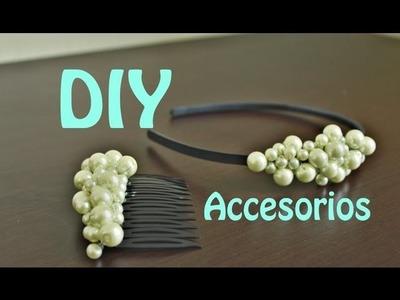 DIY Accesorios con Perlas (Muy fácil)