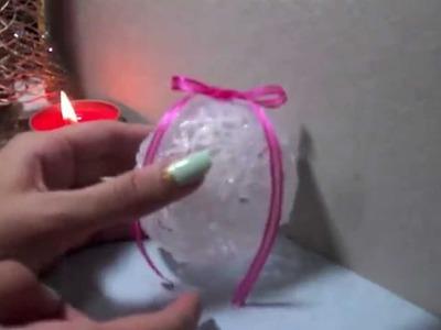 DIY- Esferas de Silicona - Especial Navidad