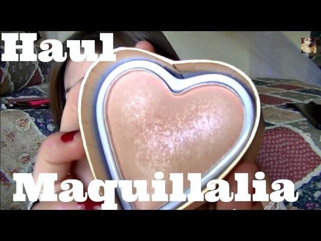 Mega Mega Haul @Maquillalia - Zoeva, I ♥ Makeup, Makeup Revolution.