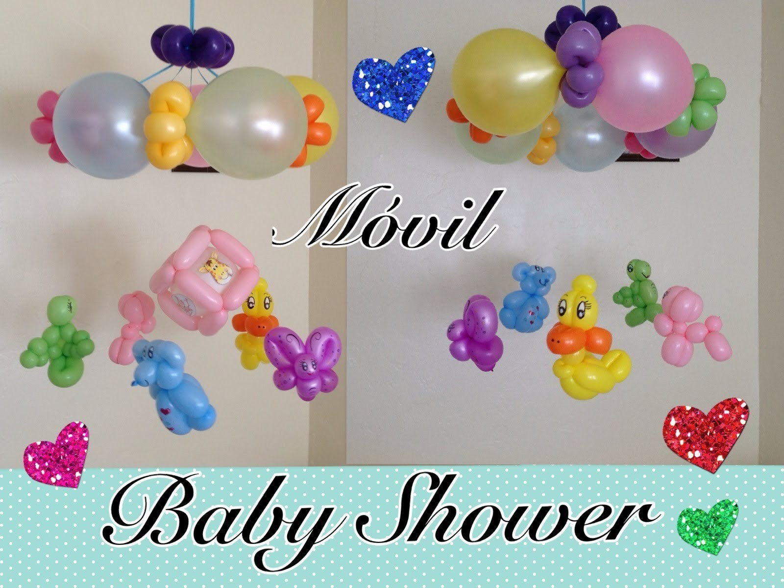 MOVIL  O COLGANTE PARA BABY SHOWER .