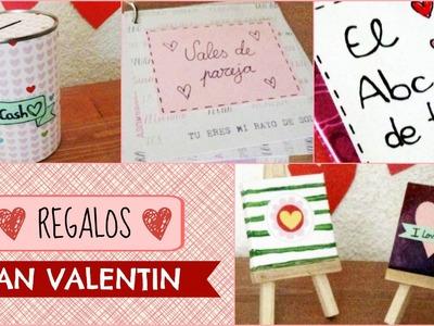 Regalos San Valentin. 4 Ideas sencillas y bonicas!
