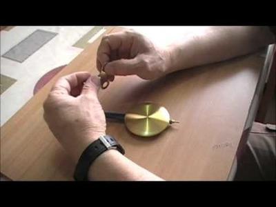 Reloj a cuerda de pendulo Polaris 20167 ( segunda parte ) Funcion del pendulo