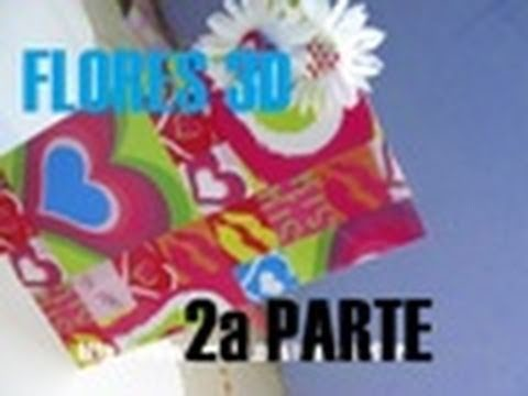 Tarjeta de flores 3D para el Día de las madres  (Parte 2) - floritere - 2011