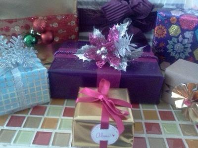 Tips para envolver regalos ( parte 1)