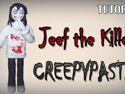 Tutorial Jeff the Killer en Plastilina. Creepypasta. How to make a Jeff the Killer with Clay