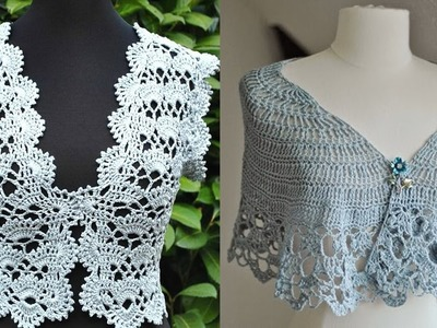 Boleros - Tejidos a Crochet ( Diseños )