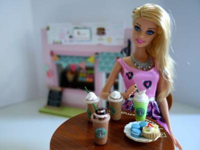 Cómo hacer un dije de Starbucks o bebida para muñecas