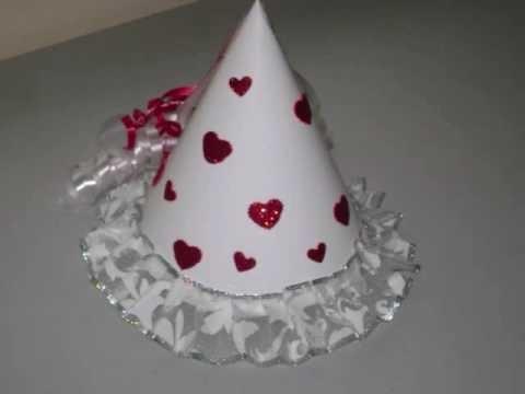 Como hacer un lindo sombrero de princesa