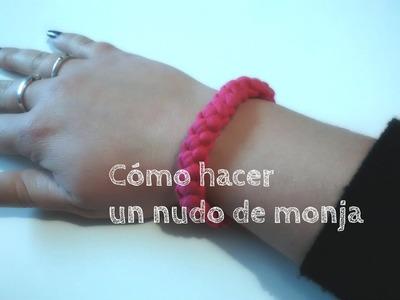 "Cómo hacer un ""Nudo de monja"" - How to do a "" Nun's knot"" - Ahorradoras.com"