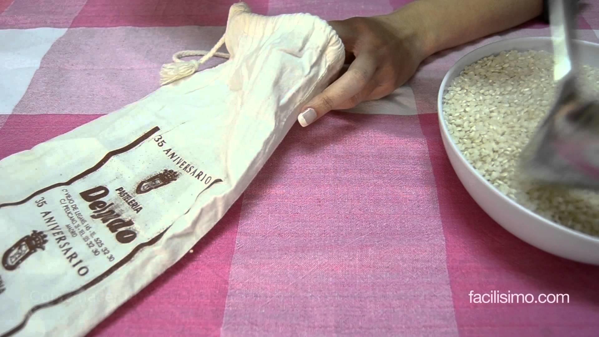 Cómo hacer una bolsa de calor con semillas    facilisimo.com