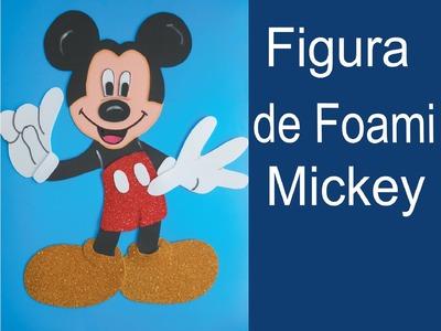 Como hacer una Figura de Foami Mickey Mouse