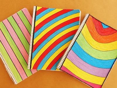 Decora tus cuadernos para el regreso a clases {3 Estilos}. BackTwoSchool