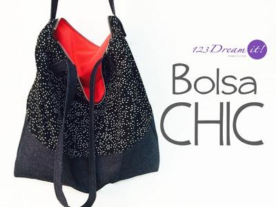 DIY Bolsa chic