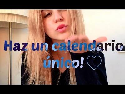 DIY Calendario 2015 ~ Inspiración Y Própositos Año Nuevo