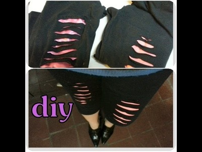 DIY personaliza tus leggins (VR)  customize your leggings