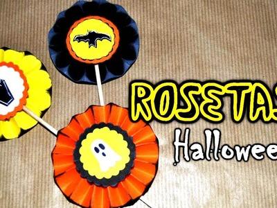 DIY: Rosetas De Papel Para Halloween - Brotes De Creatividad
