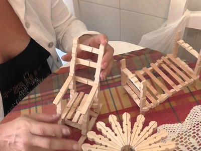 MUEBLES CON PINZAS DE ROPA