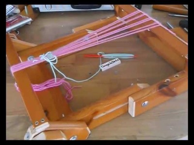 Telar plegable (1), folding Loom