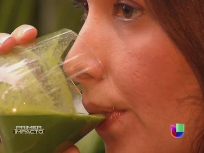 Tu segmento favorito de Vida Sana con Cecilia, lo bueno de los jugos verdes - Primer Impacto