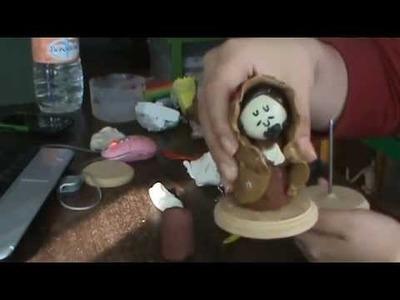 TUTORIAL plastievalinas***- Nacimiento navideño (2)
