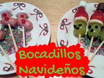 Bocadillos Navideños | Recetas navideñas