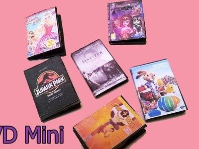 Cajas de  DVD miniatura para Muñecas, Barbie Monster High Peliculas