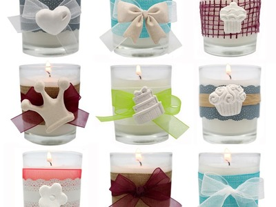 Cómo decorar velas, aprende con Gran Velada.