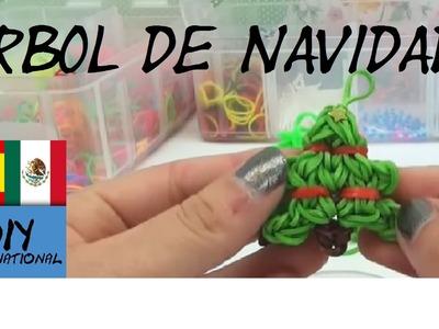 CÓMO HACER UN ARBOL DE NAVIDAD DE GOMITAS - CHRISTMAS TREE - CON TELAR - TUTORIAL EN ESPAÑOL - DIY