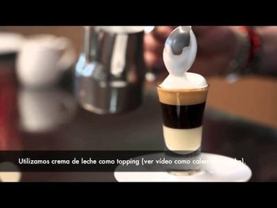 Cómo hacer un café bombón