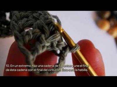Crea un precioso y personalizado Cinturón de Ganchillo. - Hazlo tu Mismo Estilo - Guidecentral