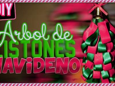 DIY: Crea un Árbol de Listones ♥ Navidad 2014!