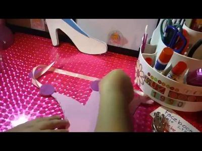 """DULCEROS de CENICIENTA """"coronas"""" para fiestas infantiles RECICLADO"""