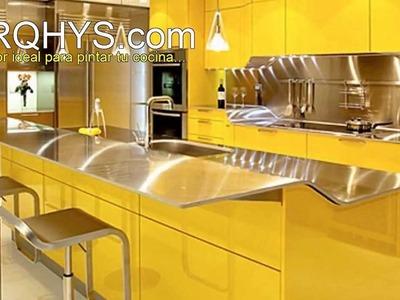 El color ideal para la cocina