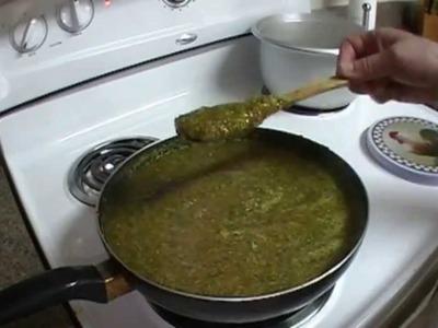 Hogao o Guisado. receta de la abuela.