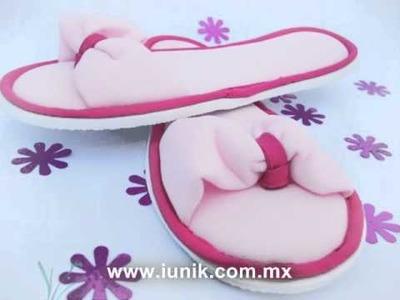 Pantuflas y Recuerdos IUNIK